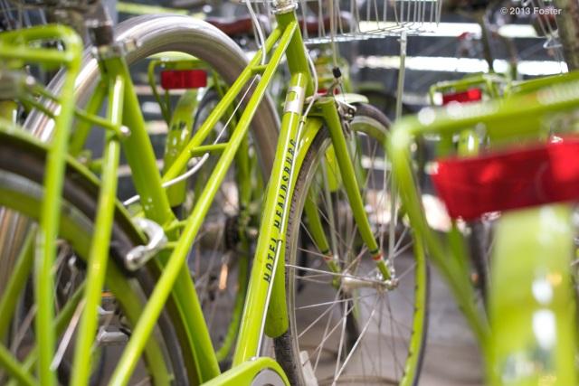 Green Bikes in Healdsburg