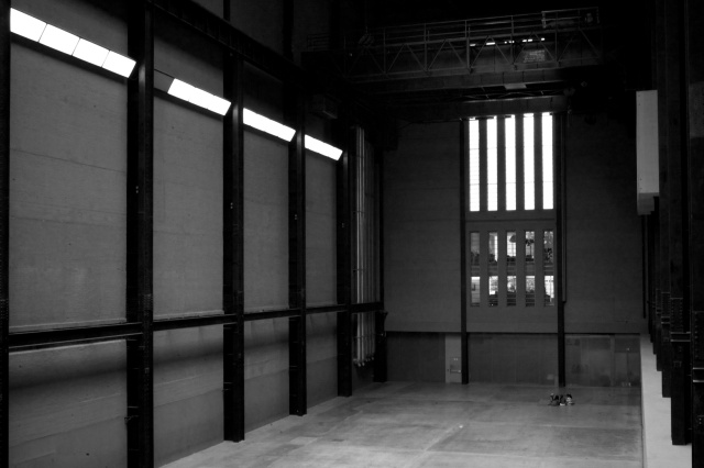 Tate turbine hall..